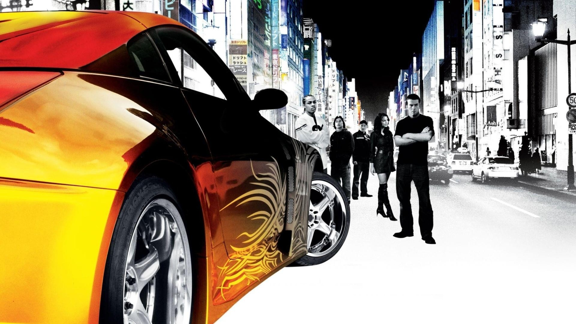 The Fast And The Furious Tokyo Drift 2006 Hd Wallpaper