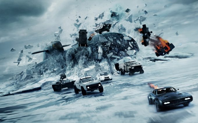 The Fate of the Furious 2017 8K