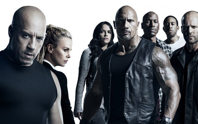 The Fate of the Furious 2017 The Team 4K