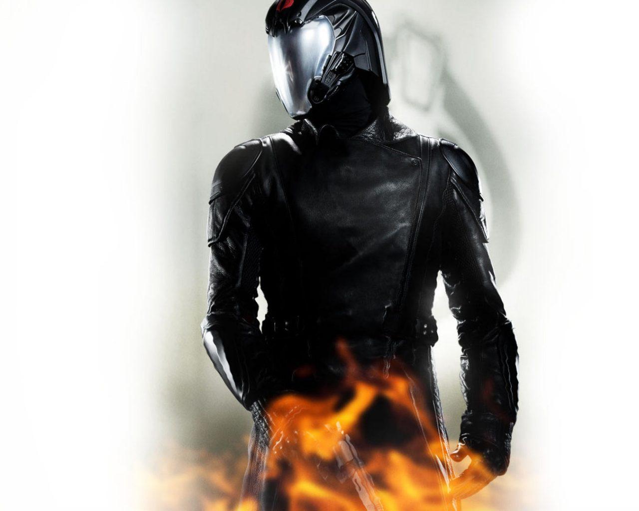 G I Joe Retaliation 2013 Cobra Commander Hd Wallpaper
