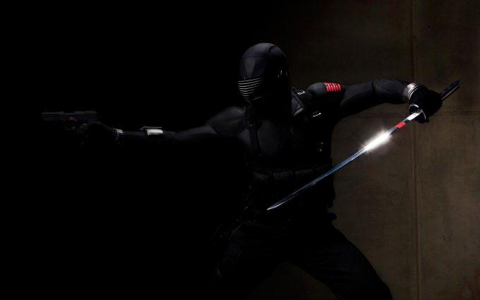 GI Joe The Rise of Cobra 2009 Snake Eyes v2 HD