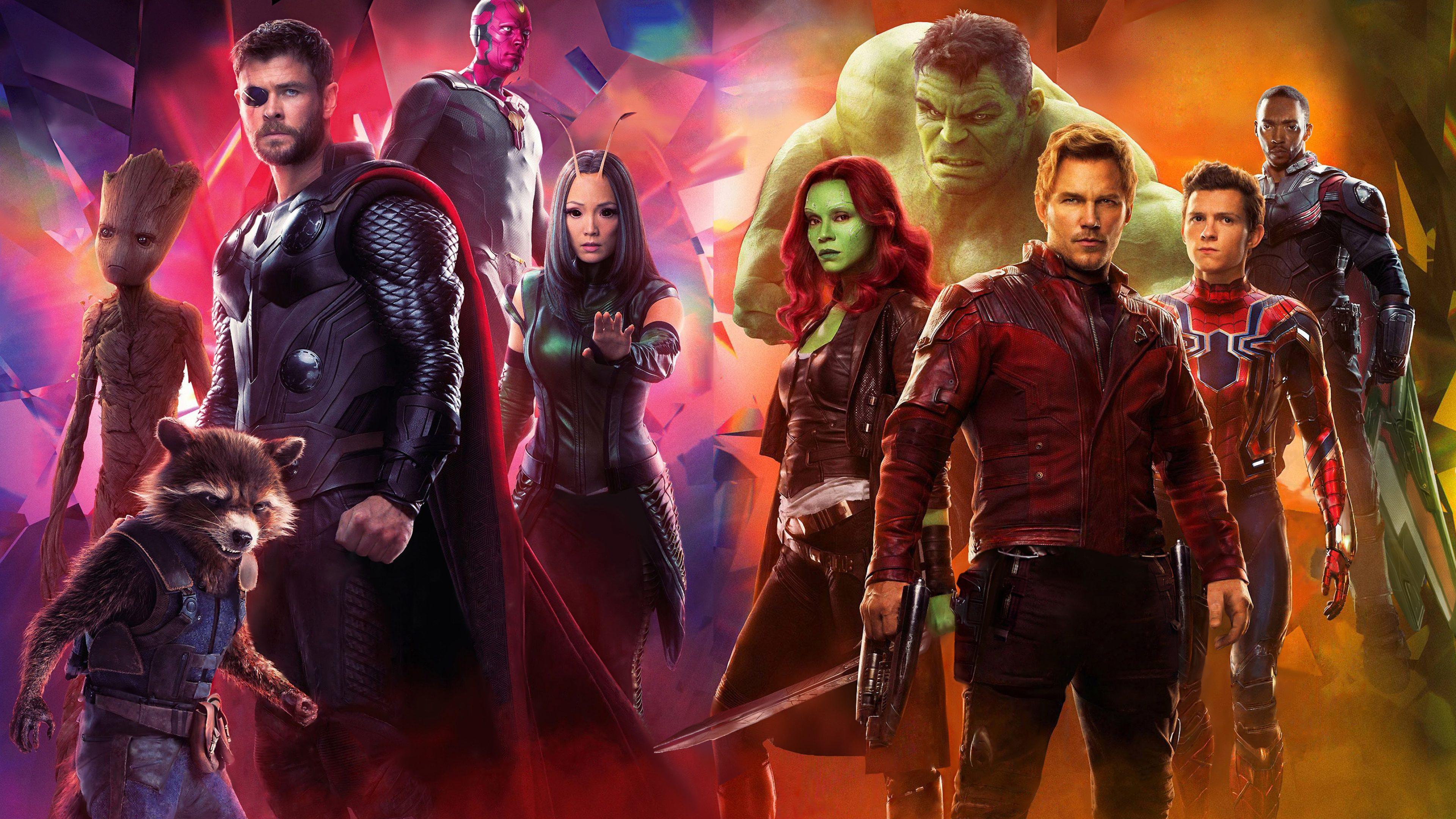 Avengers Infinity War 2018 Thanos 4k Uhd 3 2 3840x2560: Avengers: Infinity War 2018 4K Ultra HD Wallpaper
