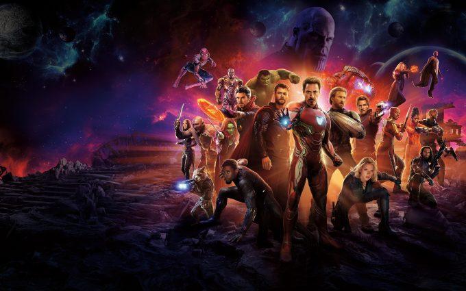 Avengers Infinity War 2018 5K Ultra HD