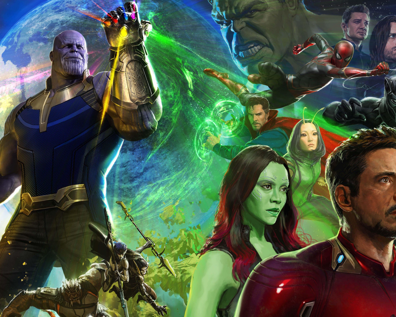 Avengers Infinity War 2018 Thanos 4k Uhd 3 2 3840x2560: Avengers: Infinity War (2018) 5K UltraHD Wallpaper