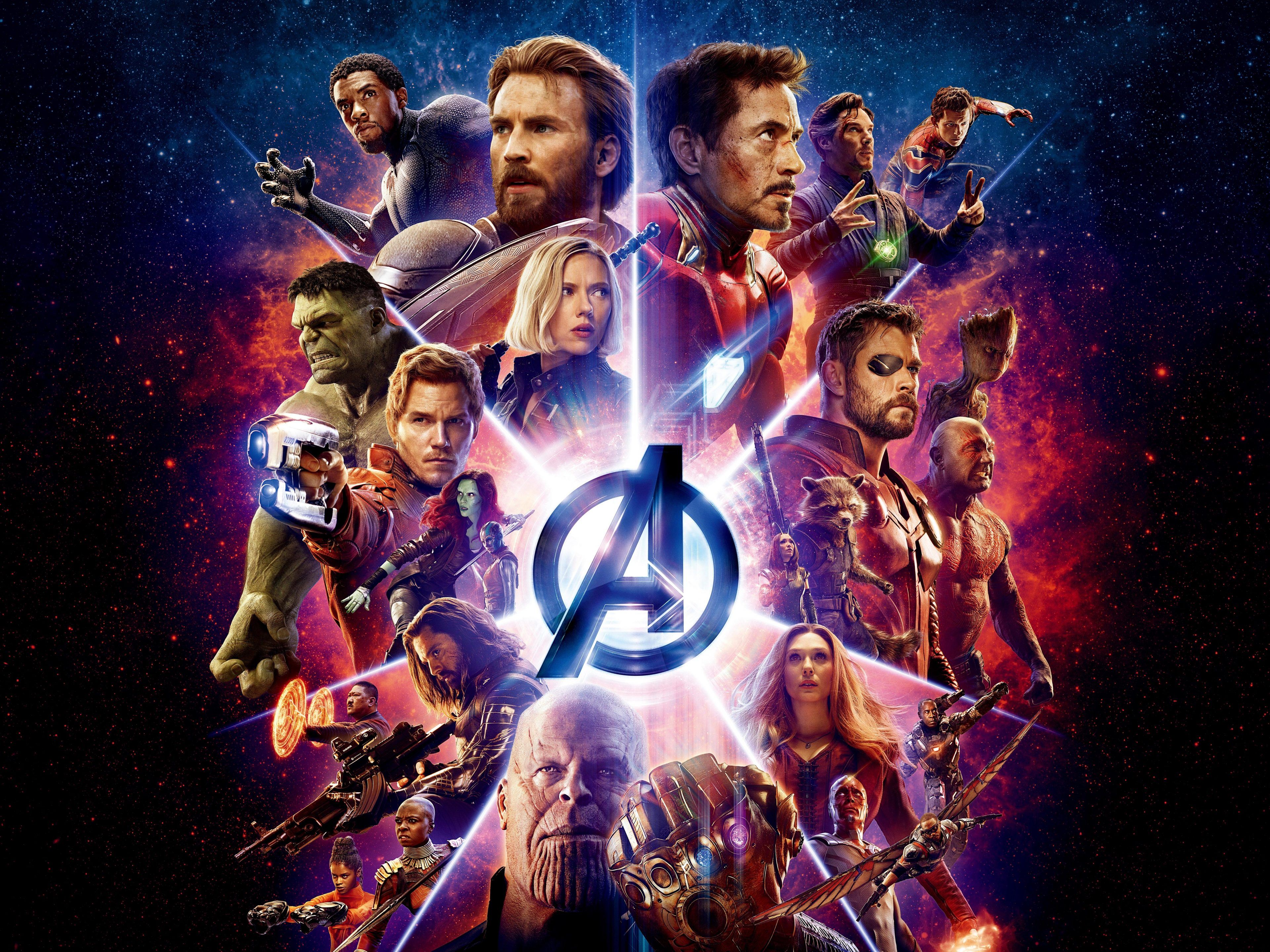 Avengers Infinity War 2018 Thanos 4k Uhd 3 2 3840x2560: Avengers: Infinity War (2018) 8K Ultra HD 7680x4800 Wallpaper