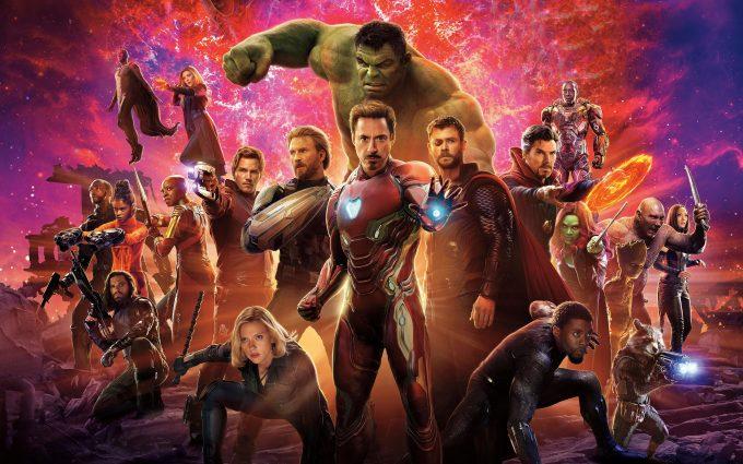 Avengers Infinity War 2018 8K UltraHD Wide