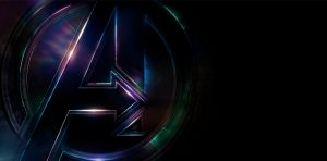 Avengers: Infinity War (2018) Logo 4K