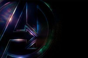 Avengers Infinity War 2018 Logo 4K