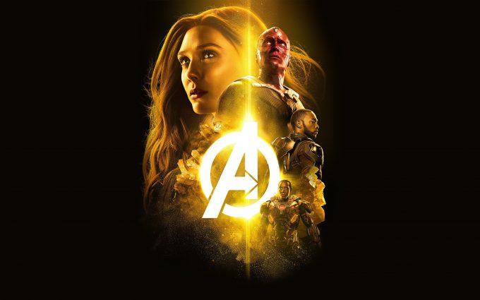 Avengers Infinity War 2018 Mind Stone 4K UHD