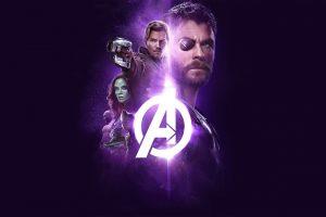 Avengers: Infinity War (2018) Power Stone 4K UHD