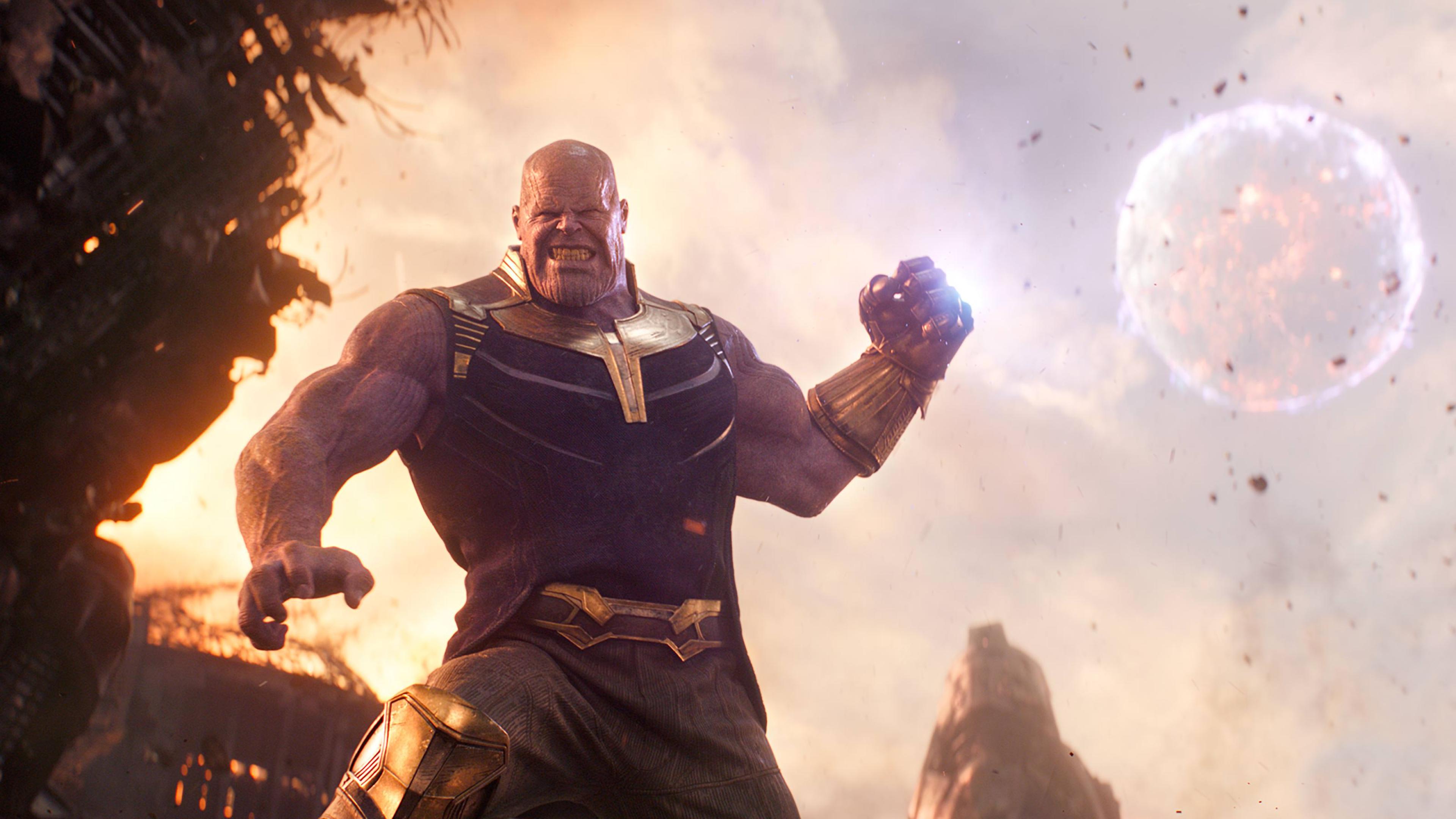 Avengers Infinity War 2018 Thanos 4k Ultra Hd Wallpaper