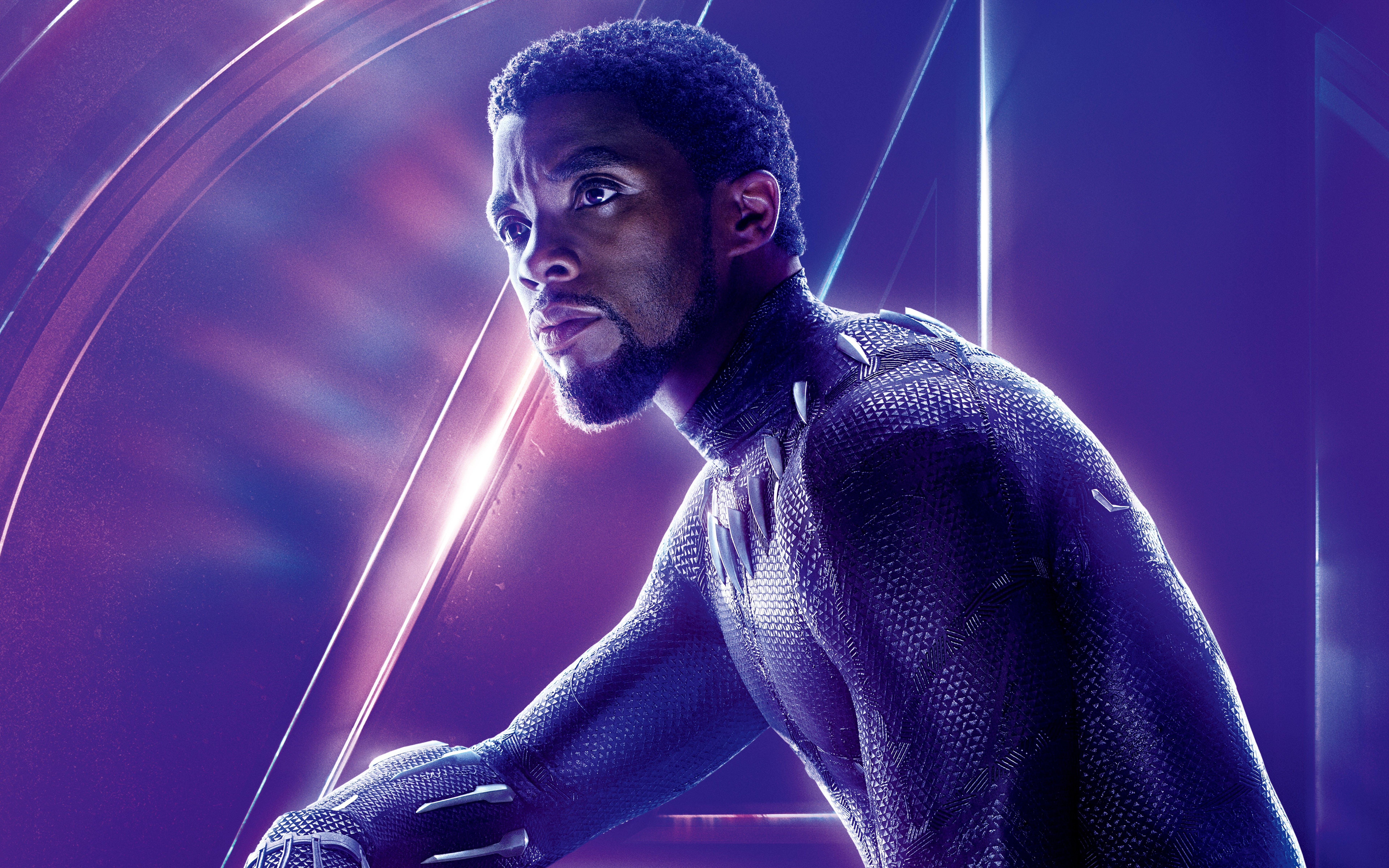 Avengers Infinity War 2018 Thanos 4k Uhd 3 2 3840x2560: Avengers: Infinity War (2018) Black Panther 8K Ultra HD