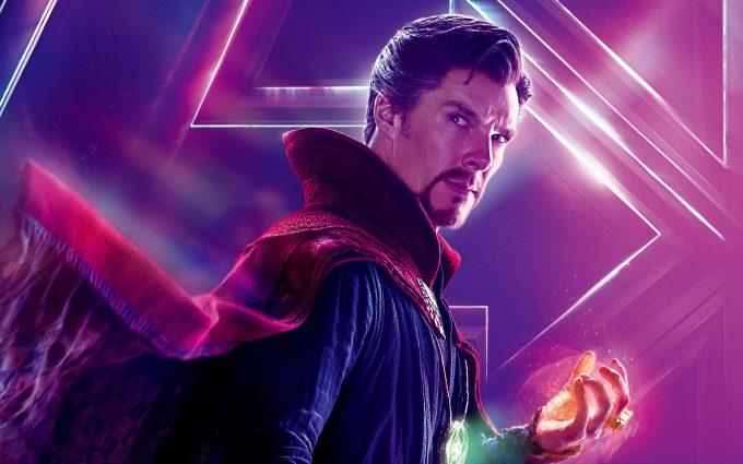 Avengers Infinity War 2018 Doctor Strange 8K Ultra HD