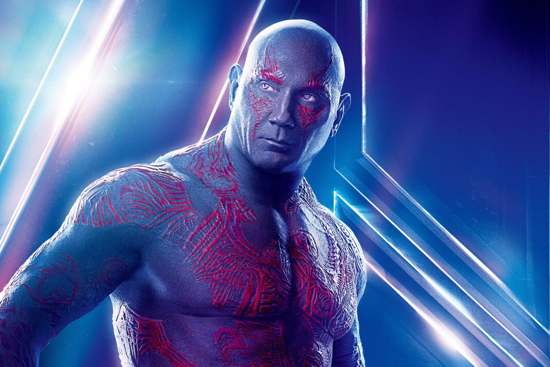 Avengers Infinity War 2018 Thanos 4k Uhd 3 2 3840x2560: Avengers: Infinity War (2018) Drax 8K UHD Wallpaper HD