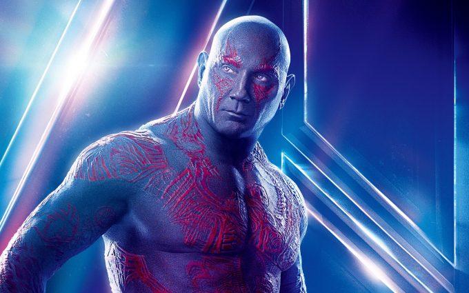 Avengers Infinity War 2018 Drax The Destroyer 8K Ultra HD