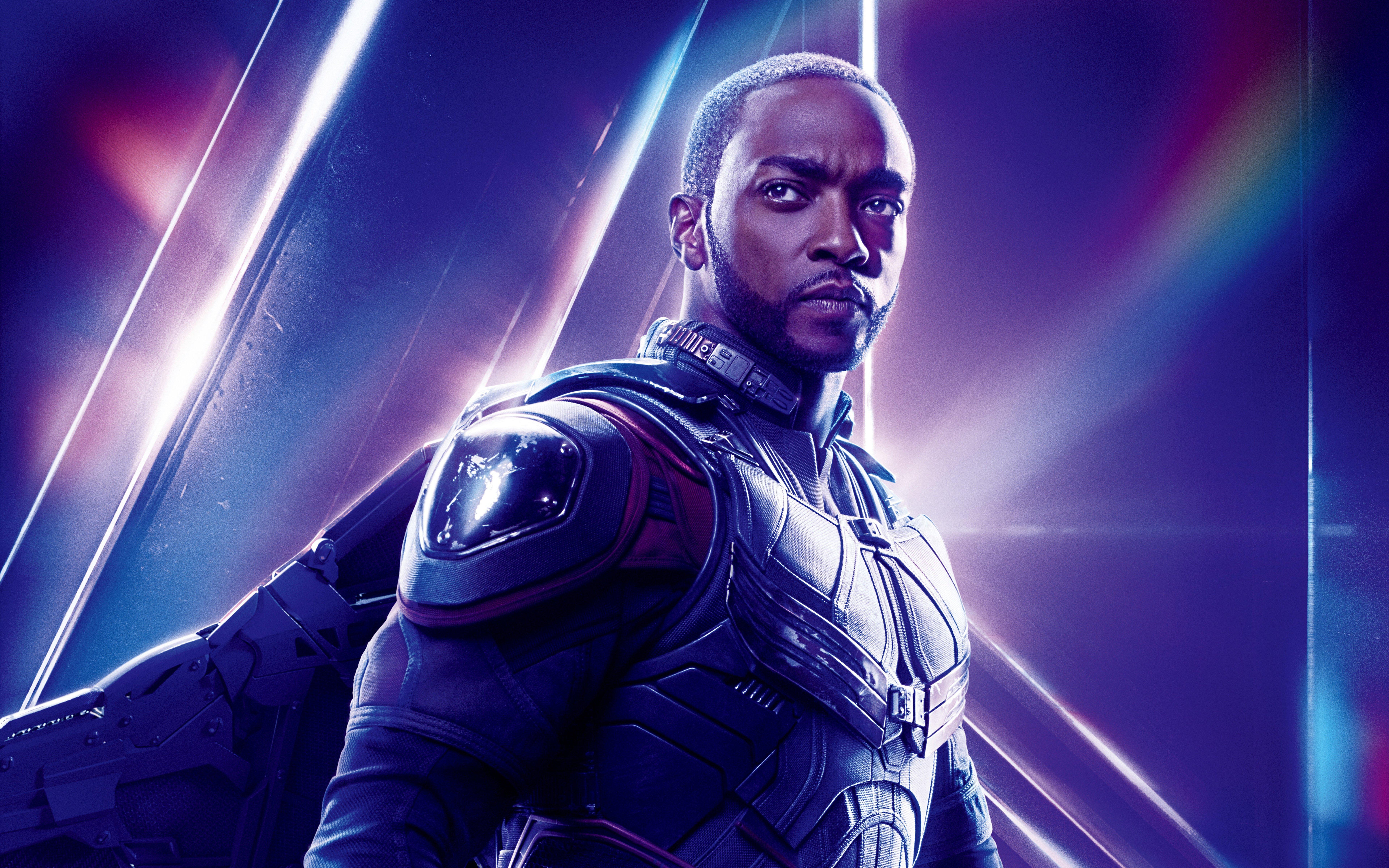 Avengers Infinity War 2018 Thanos 4k Uhd 3 2 3840x2560: Avengers: Infinity War (2018) Falcon 8K Ultra HD Wallpaper