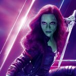 Avengers Infinity War 2018 Gamora 8K Ultra HD