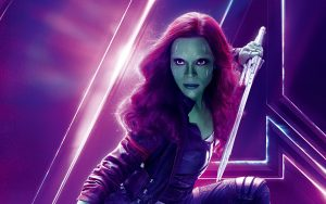 Avengers: Infinity War (2018) Gamora 8K Ultra HD
