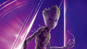 Avengers: Infinity War (2018) Groot 8K Ultra HD