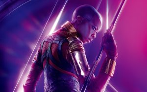 Avengers: Infinity War (2018) Okoye 8K Ultra HD