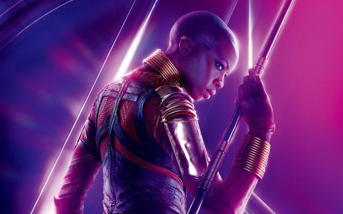 Avengers Infinity War 2018 Okoye 8K Ultra HD