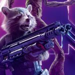 Avengers Infinity War 2018 Rocket Raccoon 8K Ultra HD