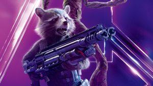 Avengers: Infinity War (2018) Rocket Raccoon 8K Ultra HD
