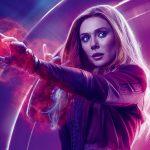 Avengers Infinity War 2018 Scarlet Witch 8K Ultra HD
