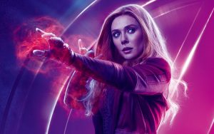 Avengers: Infinity War (2018) Scarlet Witch 8K Ultra HD
