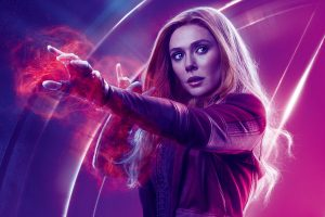 Avengers Infinity War 2018 Scarlet Witch 8K Ultra HD