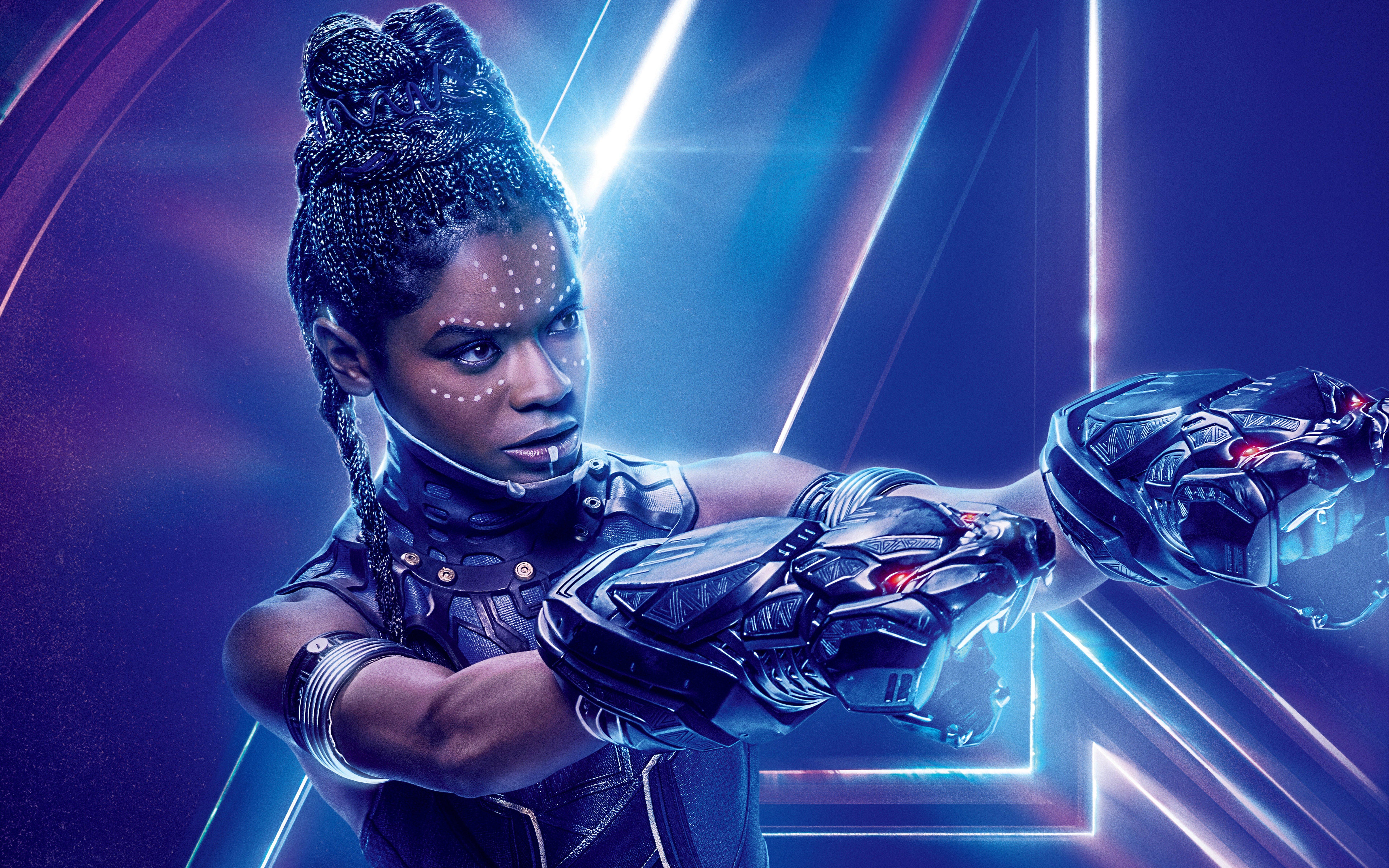 Avengers Infinity War 2018 Thanos 4k Uhd 3 2 3840x2560: Avengers: Infinity War (2018) Shuri 8K Ultra HD Wallpaper