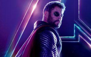 Avengers: Infinity War (2018) Thor 8K Ultra HD