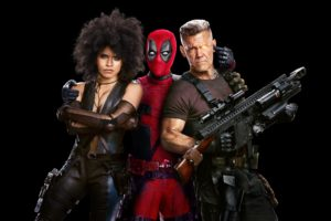 Deadpool 2 (2018) Domino, Deadpool, Cable 4K Ultra HD